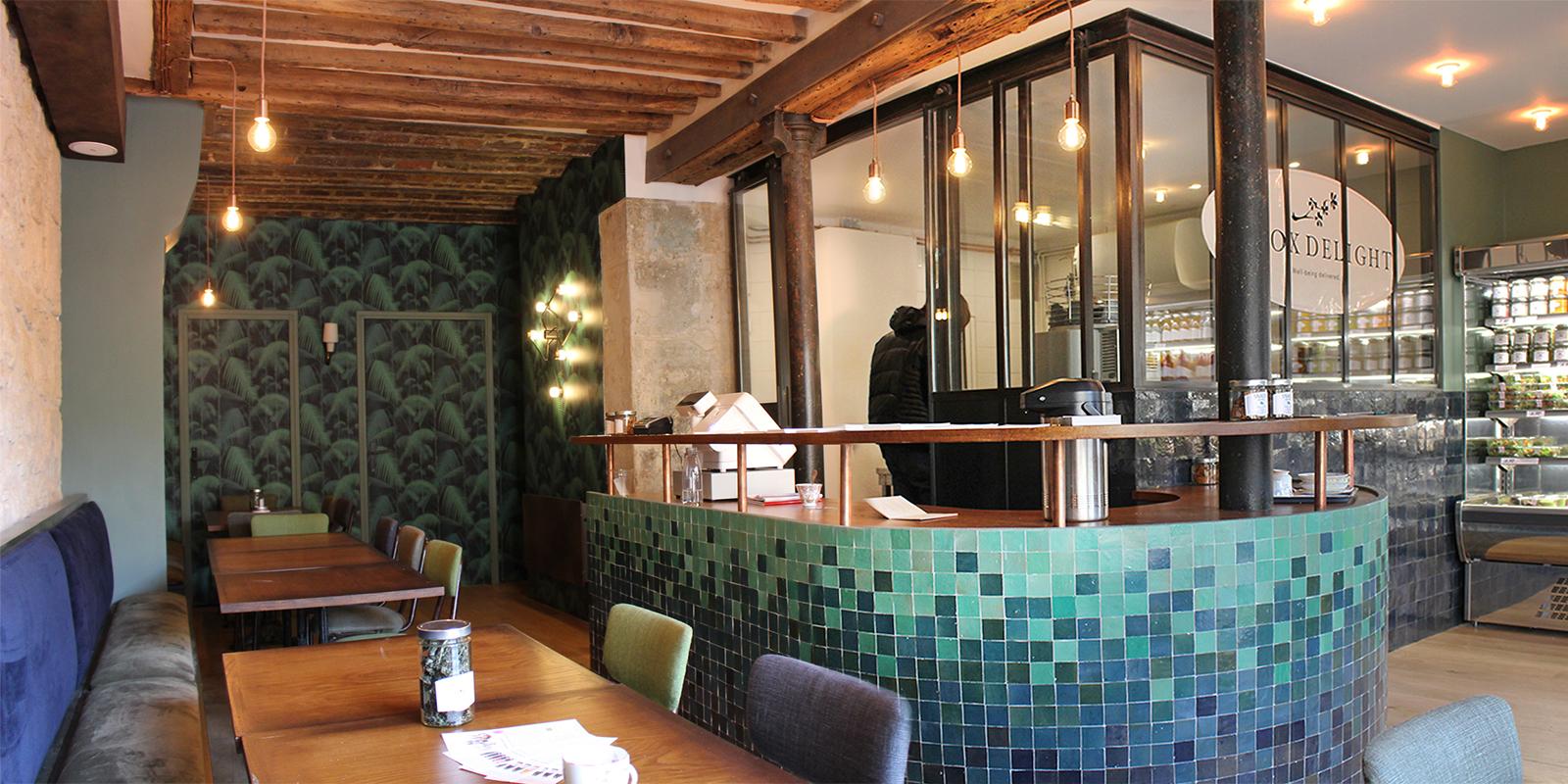 Bar à jus pour «Detox Delight» Paris